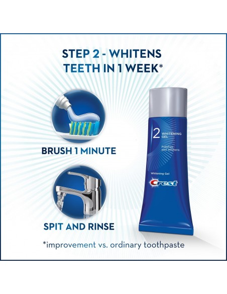 Двухступенчатая зубная паста Crest Pro-Health Gum Detoxify + Whitening Two-Step фото 6