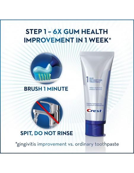 Двухступенчатая зубная паста Crest Pro-Health Gum Detoxify + Whitening Two-Step фото 5