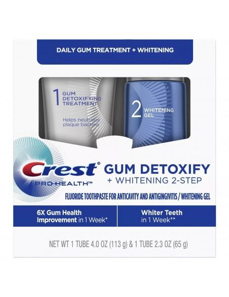 Двухступенчатая зубная паста Crest Pro-Health Gum Detoxify + Whitening Two-Step фото 1