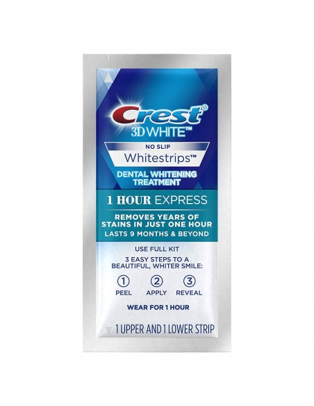 Crest 3D White Whitestrips 1 Hour Express фото 4