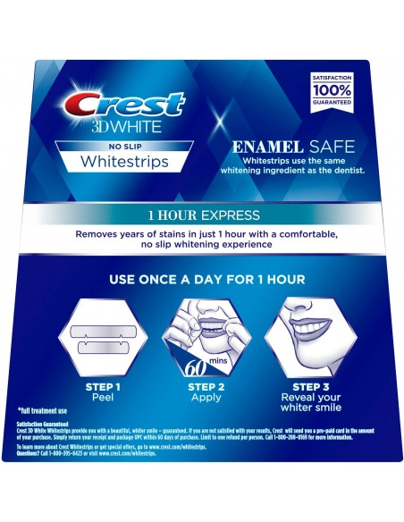 Crest 3D White Whitestrips 1 Hour Express фото 2