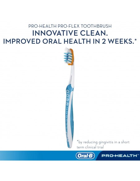 Зубная щётка Oral-B Pro-Health Clinical Pro-Flex фото 3