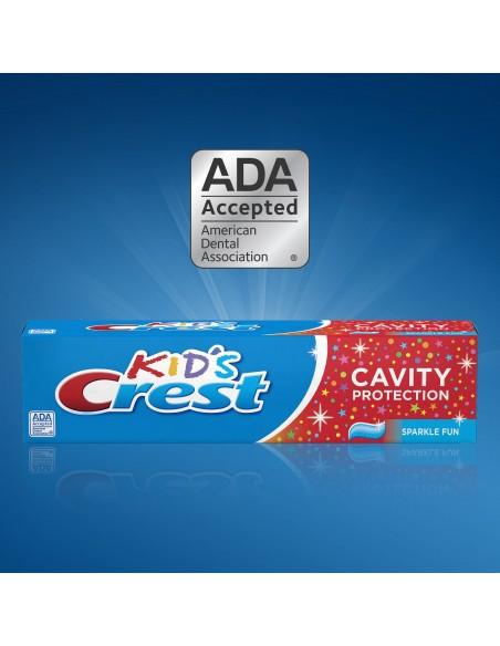 Детская зубная паста Crest Kid's Cavity Protection фото 4