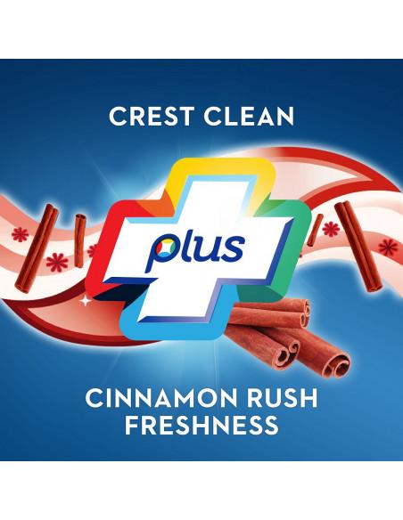 Отбеливающая зубная паста Crest Plus Complete Whitening Cinnamon Expressions фото 6
