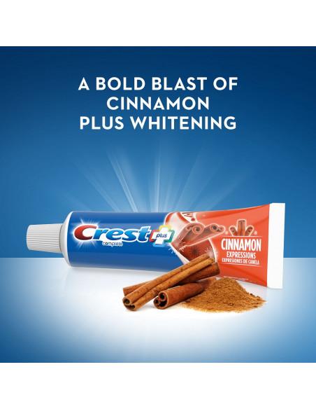 Отбеливающая зубная паста Crest Plus Complete Whitening Cinnamon Expressions фото 4