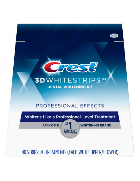 Crest 3D White Whitestrips Professional Effects фото 1