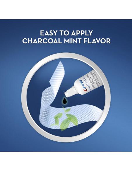 Crest 3D Whitestrips Charcoal Mint фото 7