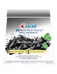Crest 3D Whitestrips Charcoal Mint фото 1