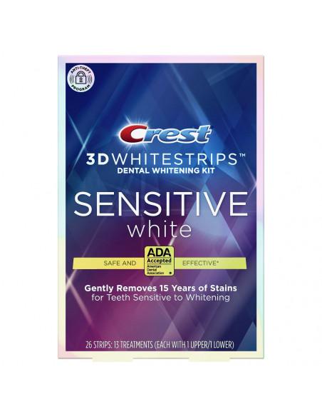 Crest 3D Whitestrips Sensitive White фото 1