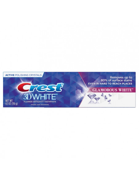 Отбеливающая зубная паста Crest 3D White Luxe Glamorous White фото 1