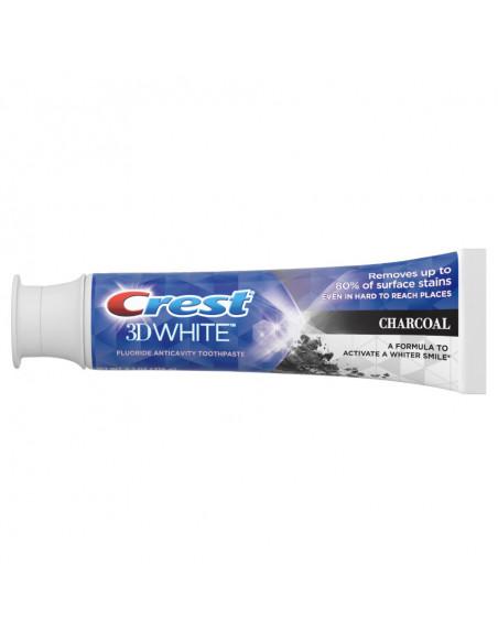Отбеливающая зубная паста Crest 3D White Charcoal фото 2