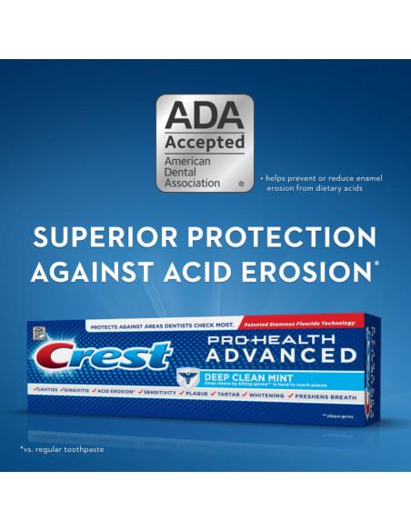 Зубная паста Crest Pro Health Advanced Deep Clean Mint фото 4