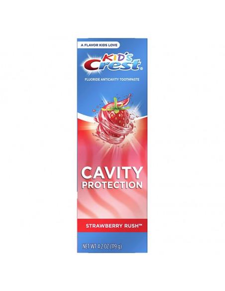 Детская зубная паста Crest Kid's Cavity Protection Strawberry Rush фото 1