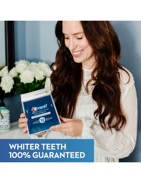 Crest 3D Whitestrips Professional White New 2021 фото 7