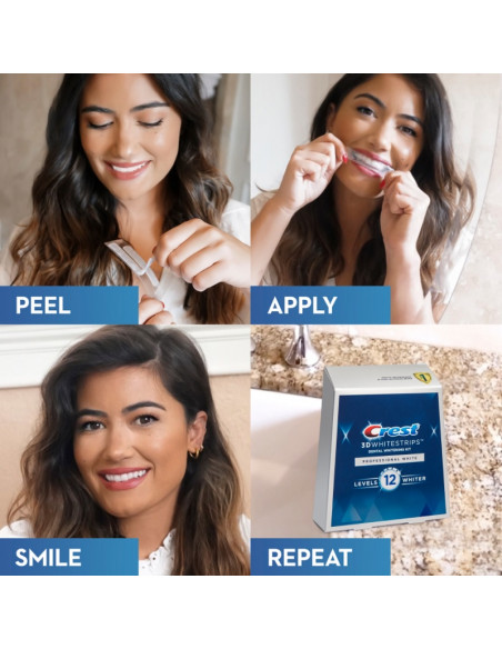 Crest 3D Whitestrips Professional White New 2021 фото 6