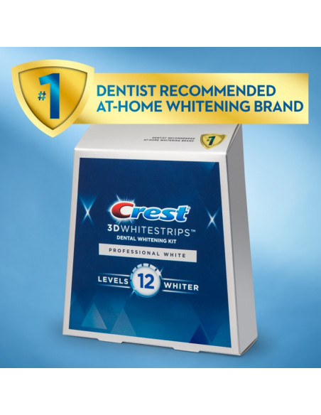 Crest 3D Whitestrips Professional White New 2021 фото 4