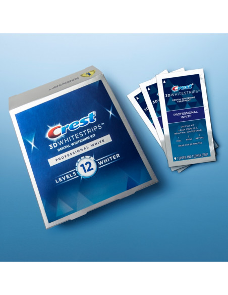 Crest 3D Whitestrips Professional White New 2021 фото 2