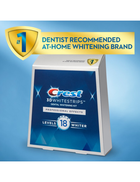 Crest 3D Whitestrips Professional Effects New 2021 фото 4