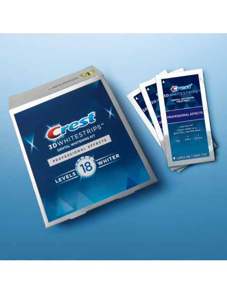 Crest 3D Whitestrips Professional Effects New 2021 фото 2