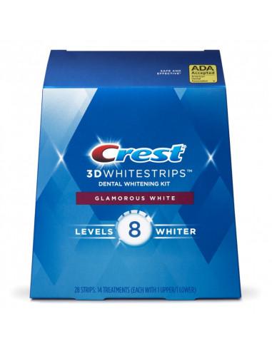 Crest 3D Whitestrips Glamorous White New 2021 фото 1