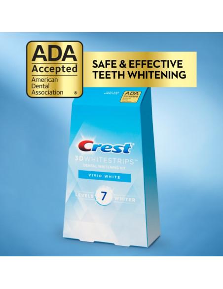 Crest 3D Whitestrips Vivid White New 2021 фото 4