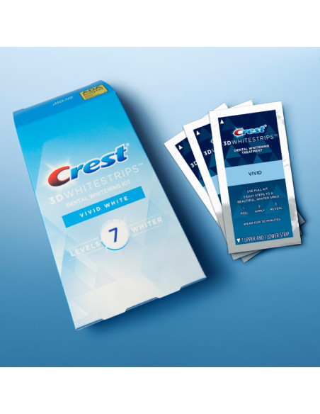 Crest 3D Whitestrips Vivid White New 2021 фото 2