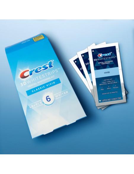 Crest 3D Whitestrips Classic Vivid New 2021 фото 2