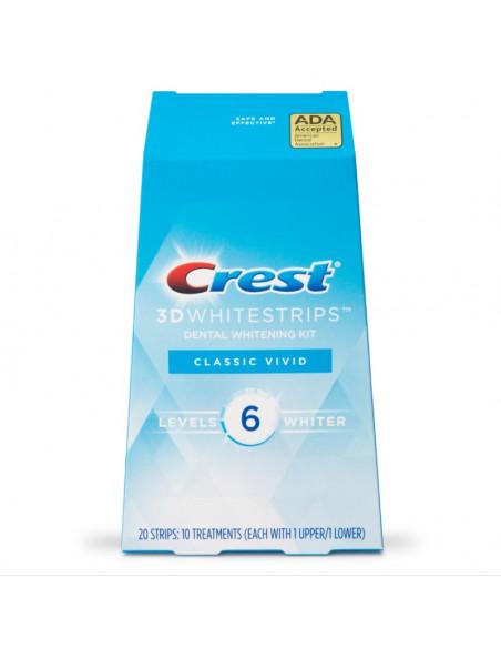 Crest 3D Whitestrips Classic Vivid New 2021 фото 1
