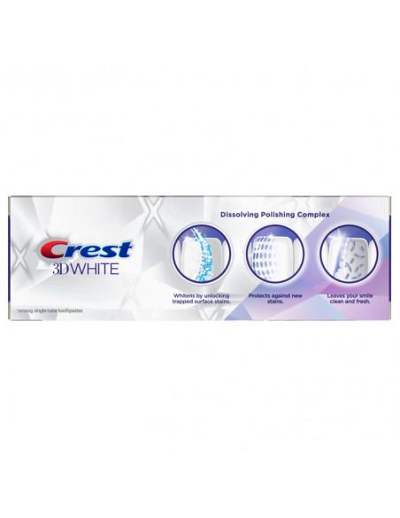 Отбеливающая зубная паста Crest 3D White Brilliance Vibrant Peppermint фото 2