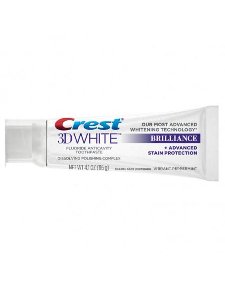 Отбеливающая зубная паста Crest 3D White Brilliance Vibrant Peppermint фото 3