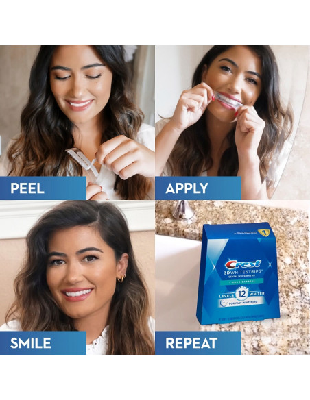 Crest 3D Whitestrips 1 Hour Express New 2021 фото 6