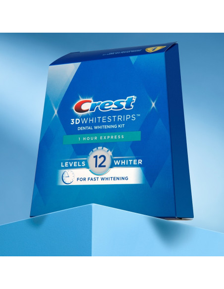 Crest 3D Whitestrips 1 Hour Express New 2021 фото 3