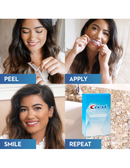 Crest 3D Whitestrips Noticeably White New 2021 фото 6