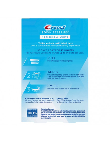 Crest 3D Whitestrips Noticeably White New 2021 фото 2