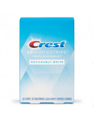 Crest 3D Whitestrips Noticeably White New 2021 фото 1