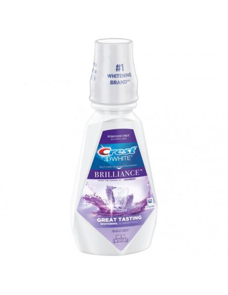 Ополаскиватель Crest 3D White Brilliance Alcohol Free Whitening Clean Mint фото 3