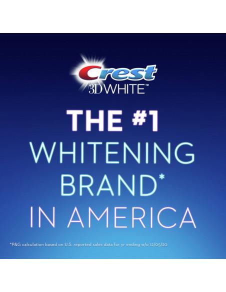 Отбеливающая зубная паста Crest 3D White Brilliance Vibrant Peppermint New фото 12