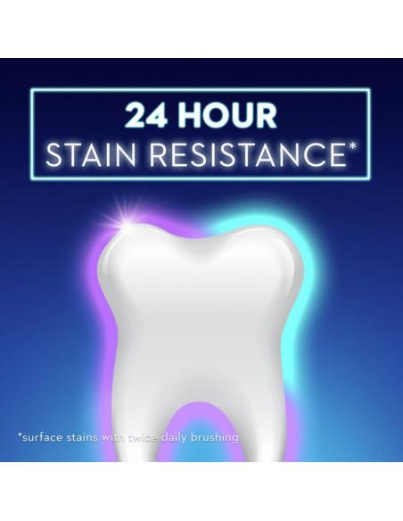 Отбеливающая зубная паста Crest 3D White Brilliance Vibrant Peppermint New фото 10