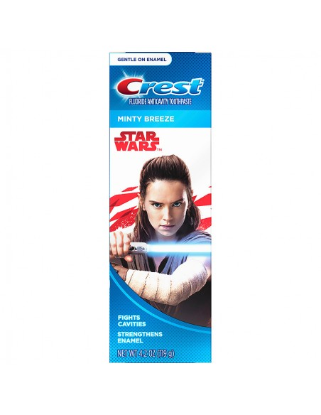 Детская зубная паста Crest Star Wars Minty Breeze фото 1