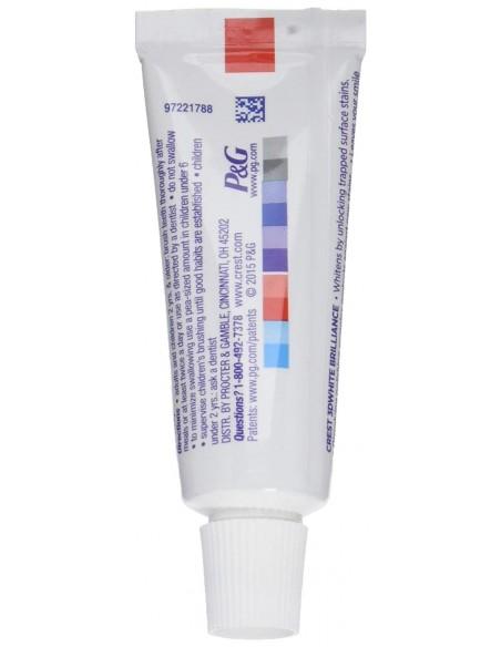 Отбеливающая зубная паста Crest 3D White Brilliance Vibrant Peppermint Mini фото 2