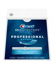 Crest 3D Whitestrips Professional Express фото 1