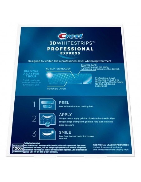 Crest 3D Whitestrips Professional Express фото 2