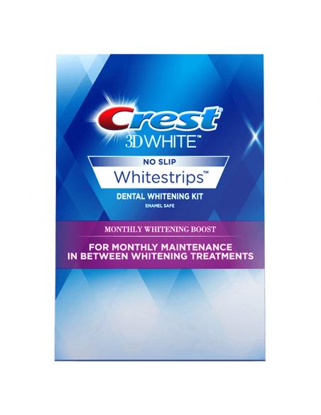 Отбеливающие полоски для зубов Crest 3D White Whitestrips Monthly Whitening Boost Mini фото 1