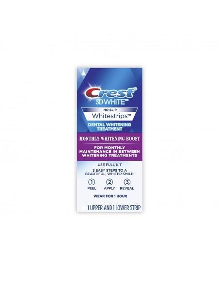 Отбеливающие полоски для зубов Crest 3D White Whitestrips Monthly Whitening Boost Mini фото 3