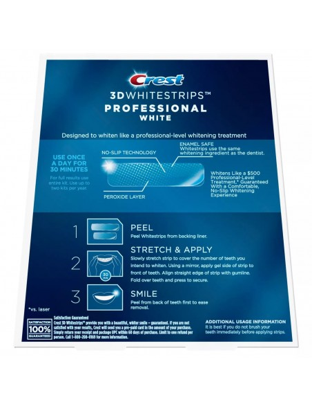 Crest 3D Whitestrips Professional White фото 2
