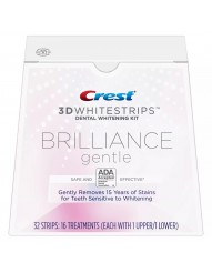 Crest 3D Whitestrips Brilliance Gentle фото 1