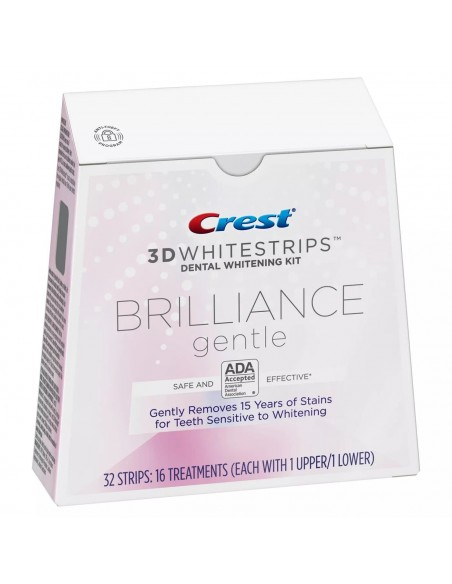 Crest 3D Whitestrips Brilliance Gentle фото 3