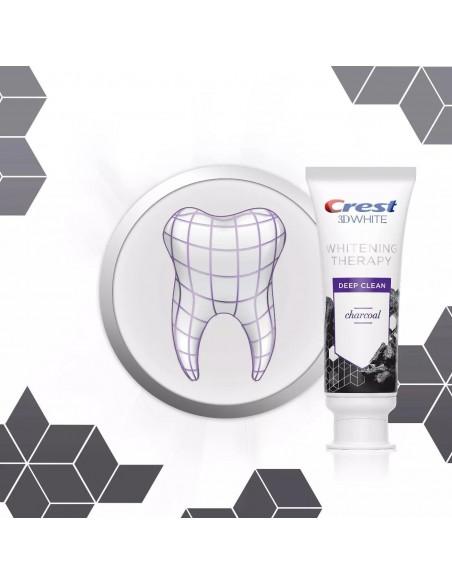 Отбеливающая зубная паста Crest 3D White Whitening Therapy Charcoal фото 6