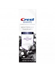 Отбеливающая зубная паста Crest 3D White Whitening Therapy Charcoal фото 1