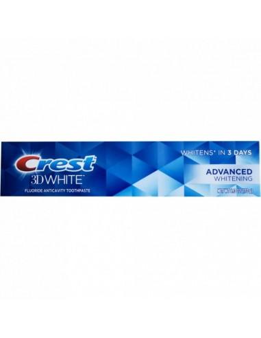 Отбеливающая зубная паста Crest 3D White Advanced Whitening фото 1